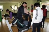 Fitnesstraining im Dr. Wolff-Gerätepark